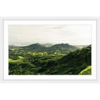 Marmont Hill Green Scenery 18-Inch x 12-Inch Framed Wall Art