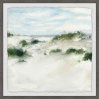 Marmont Hill White Sands I 18-Inch Squared Framed Wall Art