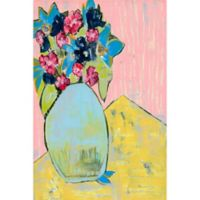 Marmont Hill Whimsical Floral 30-Inch x 45-Inch Canvas Wall Art