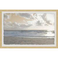 Marmont Hill Serene Sea III 36-Inch x 24-Inch Framed Wall Art