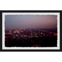 Marmont Hill L.A. Nights 36-Inch x 24-Inch Framed Wall Art