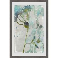 Marmont Hill Flower Layers II 24-Inch x 36-Inch Framed Wall Art