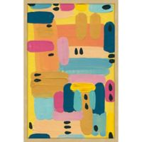 Marmont Hill Vibrant Colors 12-Inch x 18-Inch Framed Wall Art