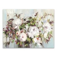Posy Hand Embellished Printed 32-Inch x 24-Inch Canvas Wall Art