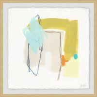 Marmont Hill Adagio V 12-Inch Squared Framed Wall Art