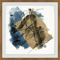 Marmont Hill Blue Crew I 18-Inch Squared Framed Wall Art