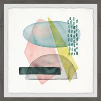 Marmont Hill Pastel Formation II 18-Inch Squared Framed Wall Art