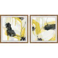Marmont Hill 2-Piece Conduit V 24-Inch x 12-Inch Framed Wall Art Set