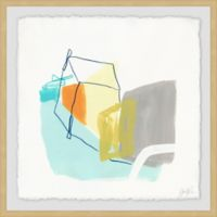 Marmont Hill Adagio VI 12-Inch Squared Framed Wall Art