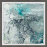 Marmont Hill Sea Lace I 18-Inch Squared Framed Wall Art
