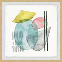 Marmont Hill Pastel Formation I 18-Inch Squared Framed Wall Art
