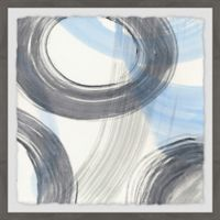 Marmont Hill Twist and Turns II 18-Inch Squared Framed Wall Art