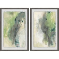 Marmont Hill 2-Piece Gold Illusion III 24-Inch x 18-Inch Framed Wall Art Set