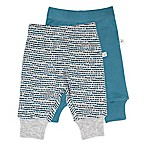 Mac & Moon Newborn 2-Pack Pants in Blue/Grey