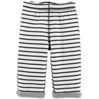 carter's® Size 18M Reversible Striped Pant in Black/White