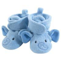 Hudson Baby® Size 18-24M Elephant Fleece Scooties in Blue