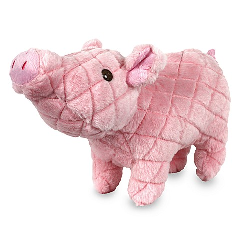 Mighty® Toy Farm Piglet Dog Toy in Pink