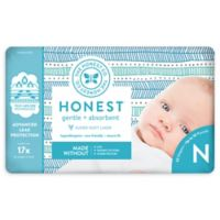 Honest 32-Pack Size 0 Diapers in Tribal Pattern