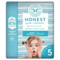 Honest 20-Pack Size 5 Diapers in Tribal Pattern