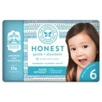 Honest 18-Pack Size 6 Diapers in Tribal Pattern