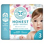 Honest 27-Pack Size 3 Diapers in Rose Blossom Pattern