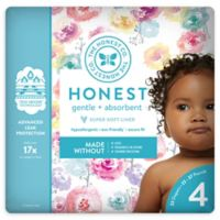 Honest 23-Pack Size 4 Diapers in Rose Blossom Pattern