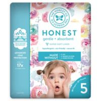 Honest 20-Pack Size 5 Diapers in Rose Blossom Pattern
