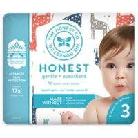 Honest 27-Pack Size 3 Diapers in Multicolored Giraffe Pattern