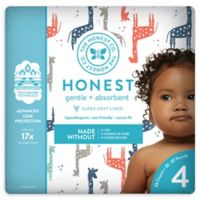Honest 23-Pack Size 4 Diapers in Multicolored Giraffe Pattern