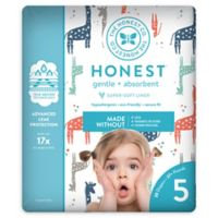 Honest 20-Pack Size 5 Diapers in Multicolored Giraffe Pattern