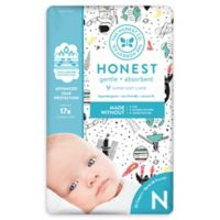 Honest 32-Pack Newborn Diapers in Space Traveling Pattern