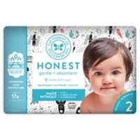 Honest 32-Pack Size 2 Diapers in Space Traveling Pattern