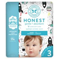 Honest 27-Pack Size 3 Diapers in Space Traveling Pattern