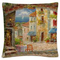 Rio Capri Isle Square Throw Pillow