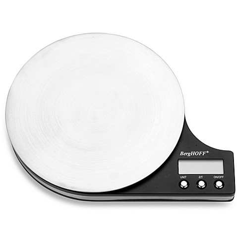 BergHOFF® Stainless Steel Electronic Kitchen Food Scale