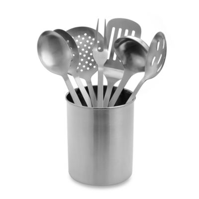 Superieur Eight Piece Stainless Steel Kitchen Utensil Set