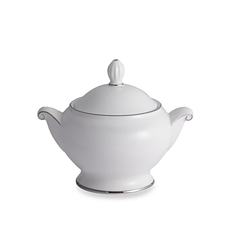 Mikasa® Cameo Platinum Covered Sugar Bowl
