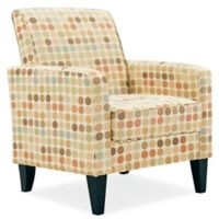 Handy Living® Wood Upholstered Frisco Chair in Beige