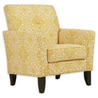 Handy Living® Wood Upholstered Adrian Chair in Gold