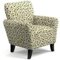 Handy Living® Wood Upholstered Sean Chair in Green