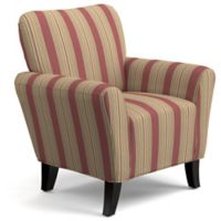 Handy Living® Wood Upholstered Sean Chair in Red