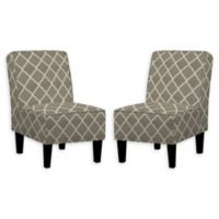 Handy Living® Wood Upholstered Bryce Chairs in Tan (Set of 2)
