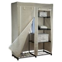 Simplify 48-Inch Portable Closet in Beige