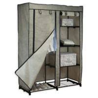 Simplify 48-Inch Portable Closet in Black