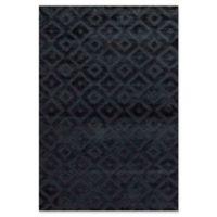 """Bokara Rug Company® Bokara Ooaks 3'11"""" X 5'10"""" Hand-Knotted Area Rug in Black"""