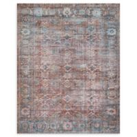 Magnolia Home by Joanna Gaines Lucca 3'9 x 5'6 Area Rug in Brick/Ocean