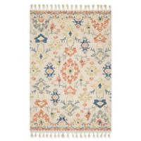 Magnolia Home By Joanna Gaines Mosaic 2'6 x 7'6 Rug in Ivory