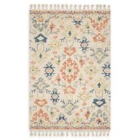 Magnolia Home By Joanna Gaines Mosaic 7'9 x 9'9 Area Rug in Ivory