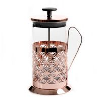 Mr. Coffee® Trellise 32 oz. Coffee Press with Scoop in Rose Gold