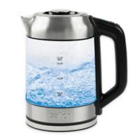 Salton 1.7-Liter Glass Kettle and Tea Steeper
